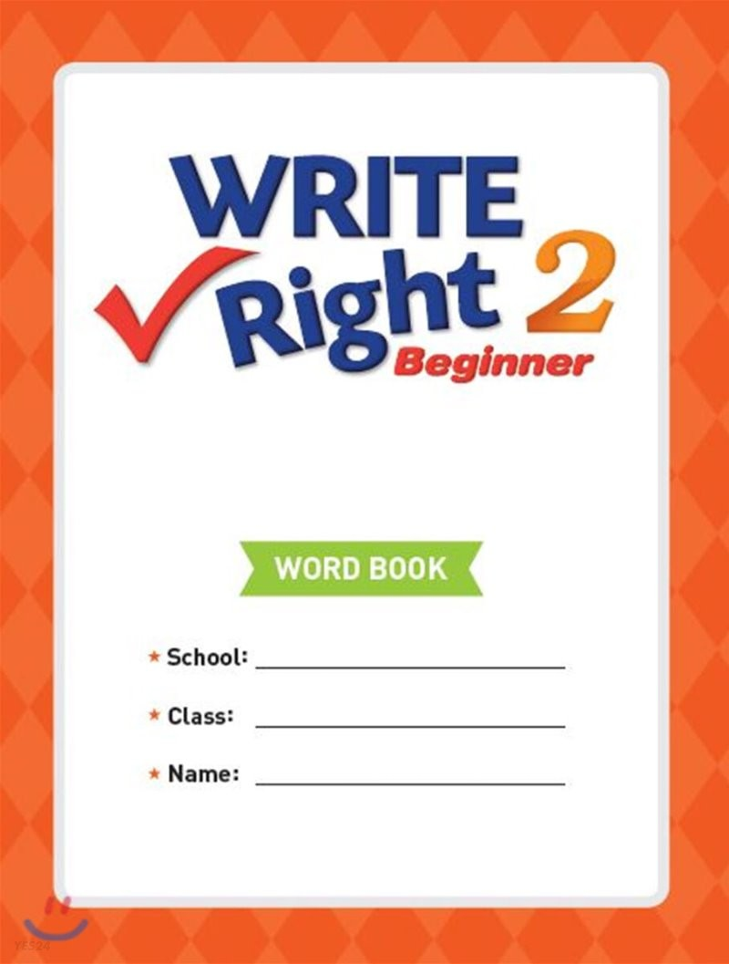 Write Right Beginner 2 Word Book