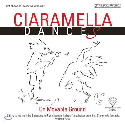 Ciaramella Ensemble (씨아라멜라 앙상블) - Dances on movable ground [LP]