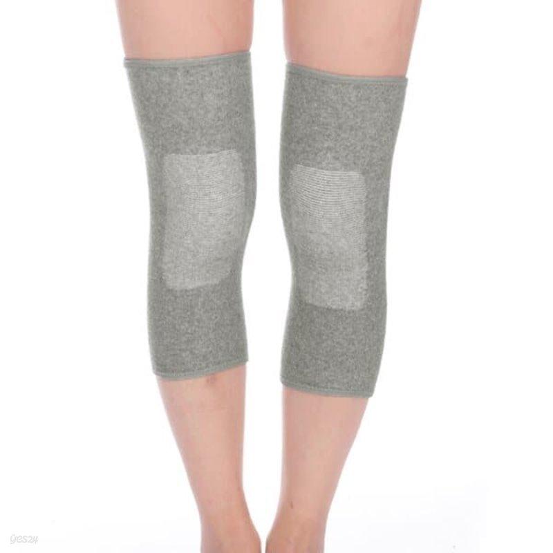 편안한 무릎 보온 보호대 2p(L-그레이)/ 무릎슬리브