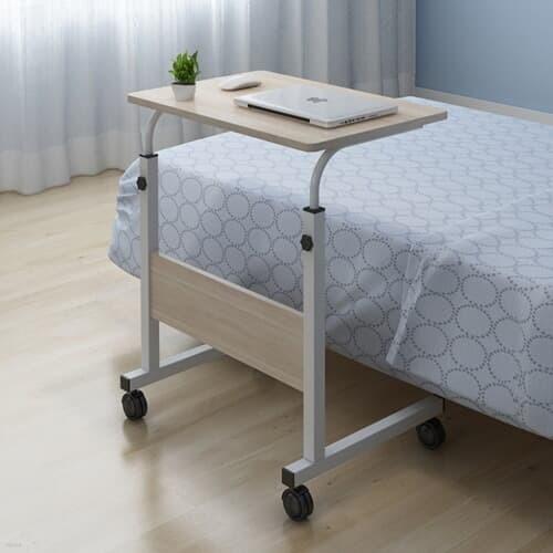 이동식 높이조절 침대 소파 거실 사이드 테이블 600*400