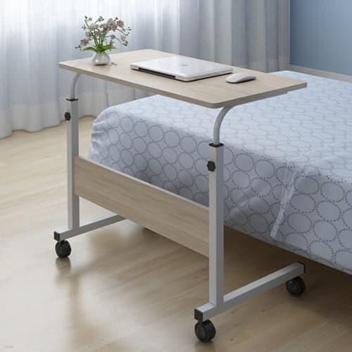 이동식 높이조절 침대 소파 거실 사이드 테이블 800*400