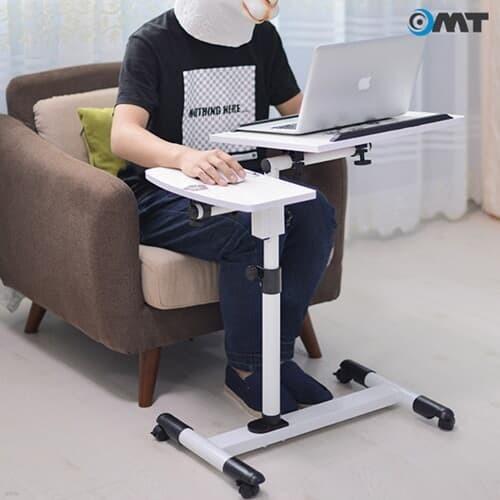 이동식 높이 각도조절 침대 소파 거실 노트북테이블 600*400