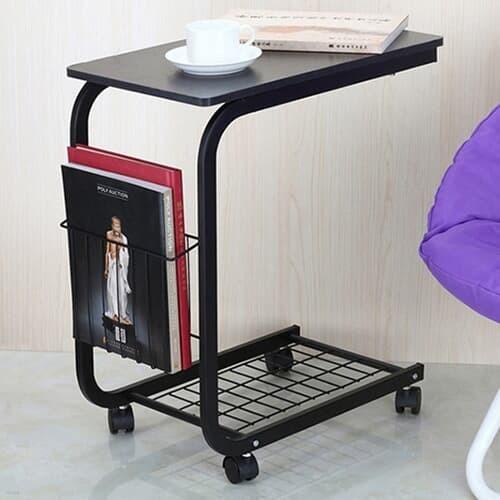 이동식 수납형 사이드 보조 테이블 2color