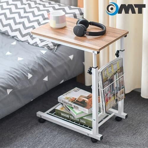 이동식 높이조절 사이드 보조 테이블 6color