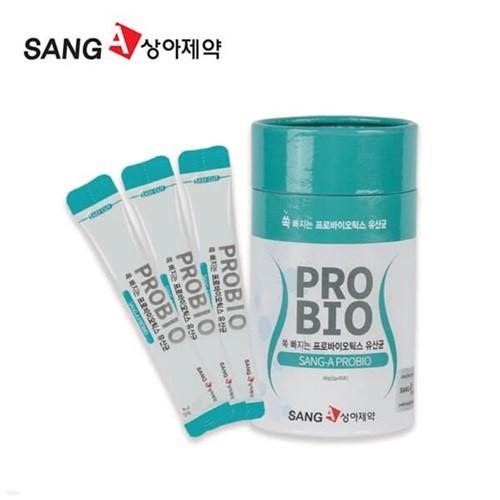상아제약 쏙 빠지는 프로바이오틱스 유산균 2g X 30포(60g)