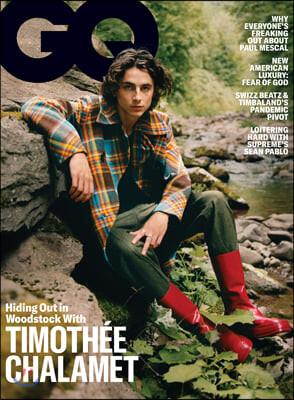 GQ USA (월간) : 2020년 11월 : 티모시 샬라메 커버
