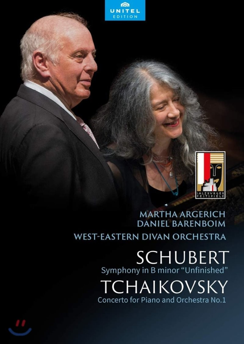 Martha Argerich / Daniel Barenboim 슈베르트: 교향곡 8번 '미완성' / 차이코프스키: 피아노 협주곡 1번 - 마르타 아르헤리치, 다니엘 바렌보임