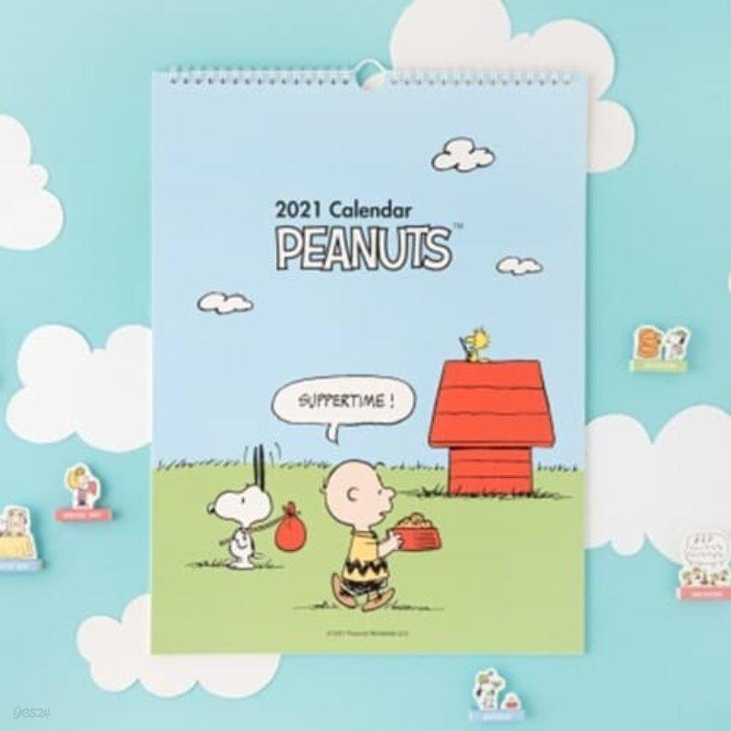 [Peanuts] 2021 벽걸이 캘린더_스누피