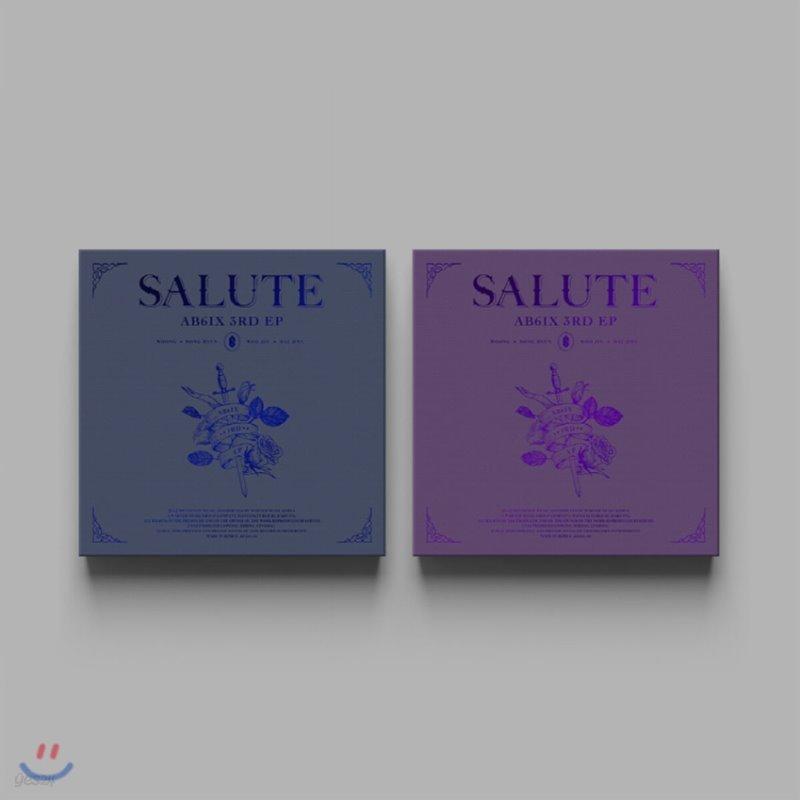 에이비식스 (AB6IX) - SALUTE [ROYAL/LOYAL ver. 중 랜덤발송]