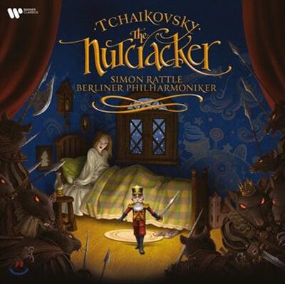 Simon Rattle 차이코프스키: 발레음악 `호두까기 인형` - 사이먼 래틀, 베를린 필 (Tchaikovsky: Nutcracker) [2LP]