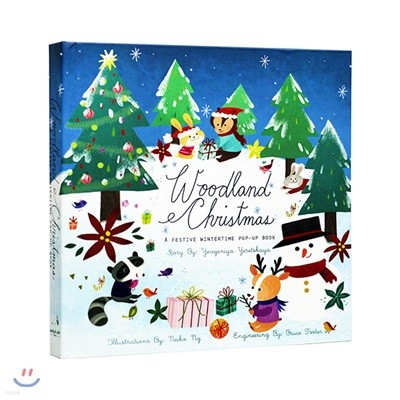 Woodland Christmas : A Festive Wintertime Pop-Up Book
