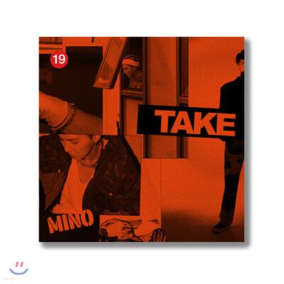 송민호 (MINO) - MINO 2nd FULL ALBUM [TAKE] [LIMITED KiT ver.]