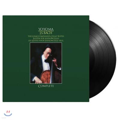 Yo-Yo Ma 바흐: 무반주 첼로 모음곡 전곡 - 요요 마 (Bach: Unaccompanied Cello Suites) [3LP]