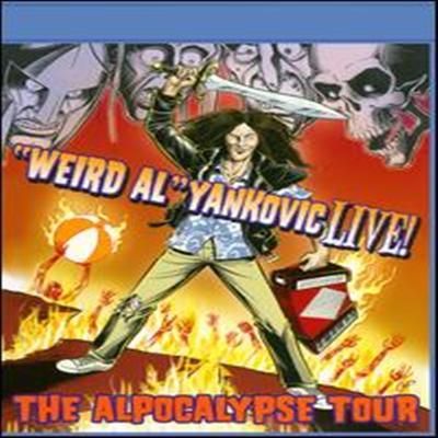 """Weird Al"" Yankovic Live! - The Alpocalypse Tour (위어드 알 얀코빅 라이브) (한글무자막)(Blu-ray) (2011)"