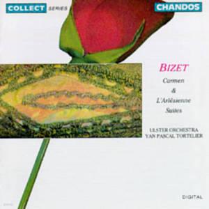 Yan Pascal Tortelier / 비제: 모음곡 '카르멘', '아를르의 여인' (Bizet: Suites from Carmen & L'Arlesienne) (수입/CHAN6600)