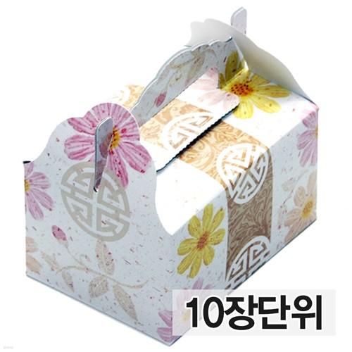 떡상자(꽃미니10장)