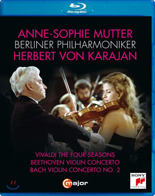 Anne-Sophie Mutter / Herbert von Karajan 비발디: 사계 / 베토벤: 바이올린 협주곡 / 바흐: 바이올린 협주곡 2번