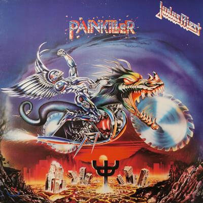 Judas Priest (주다스 프리스트) - Painkiller [레드 & 블랙 스플래터 컬러 LP]
