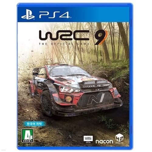 PS4 WRC9 FIA 월드 랠리 챔피언십 한글판 / 특전DLC포함