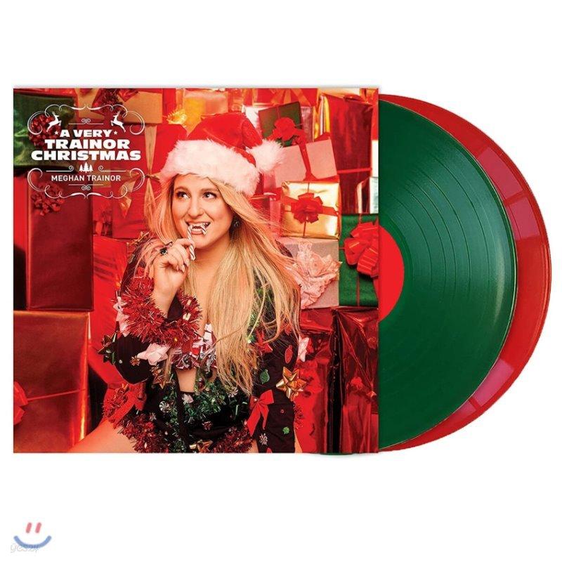 Meghan Trainor (메간 트레이너) - A Very Trainor Christmas [레드 & 그린 컬러 2LP]