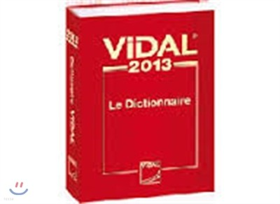Vidal 2013 - le dictionnaire (비달)