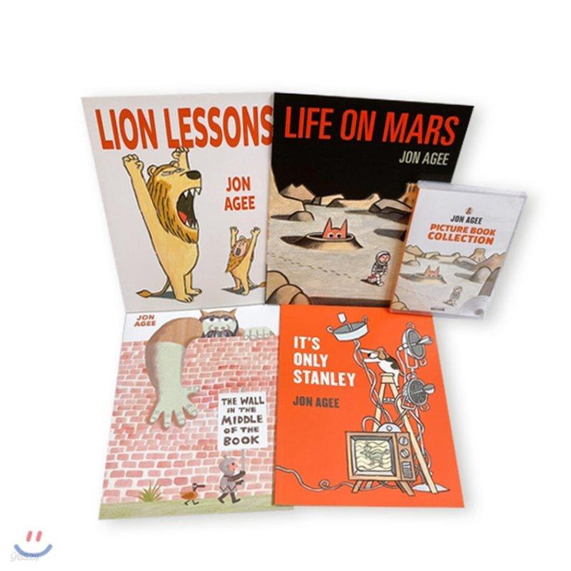 Jon Agee 4종 (Book+CD) 세트