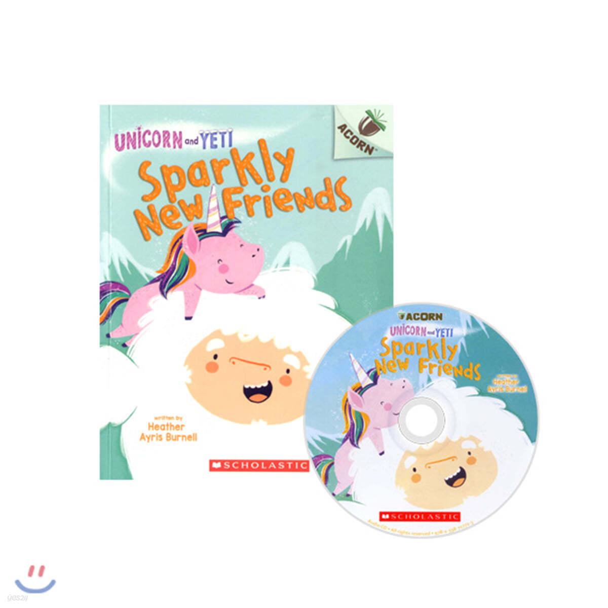 Unicorn And Yeti #1: Sparkly New Friends (CD & StoryPlus)