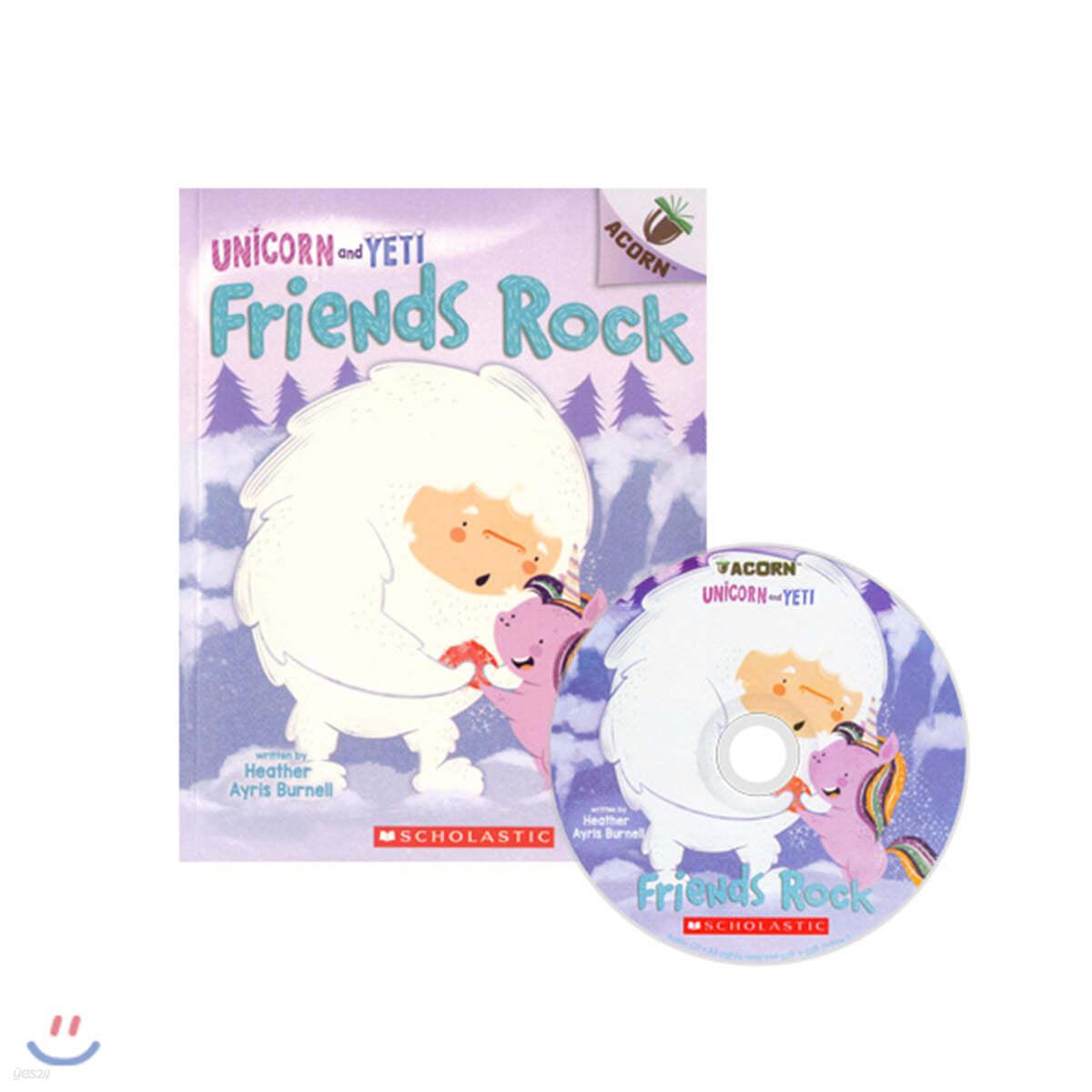 Unicorn And Yeti #3: Friends Rock (CD & StoryPlus)