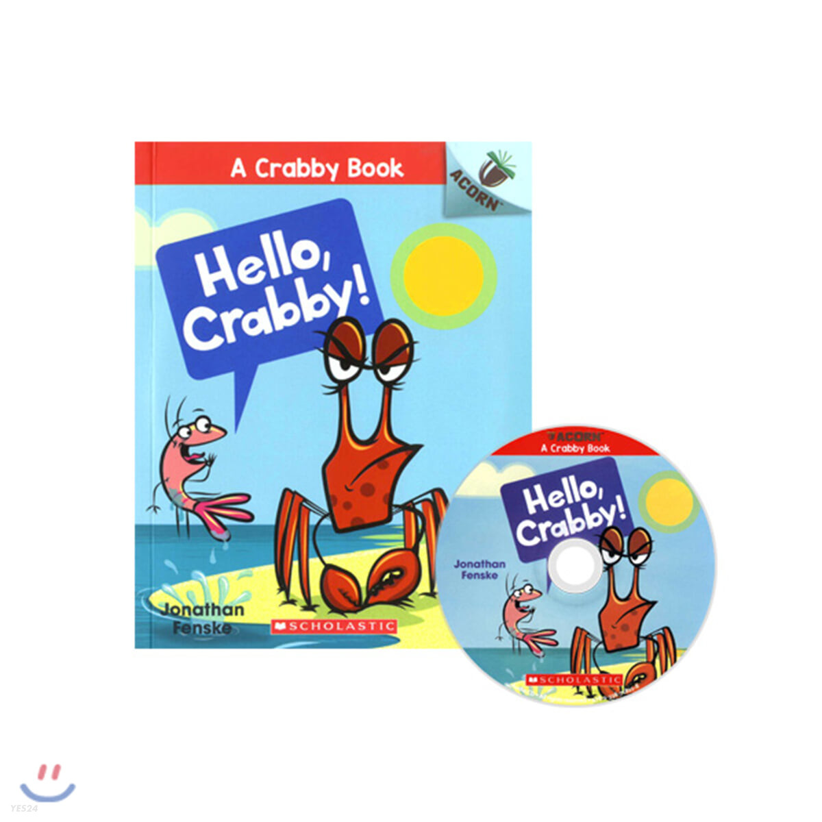 A Crabby Book #1: Hello, Crabby! (CD & StoryPlus)