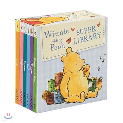 위니 더 푸 : Winnie-the-Pooh Super Library 6종 Box set