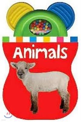 Baby Shaker Teethers Animals