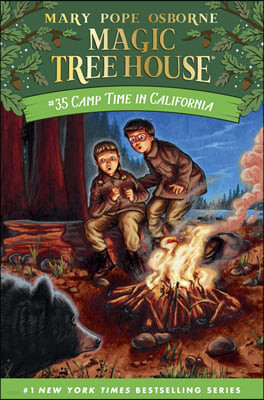Magic Tree House #35 : Camp Time in California