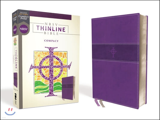 Nrsv, Thinline Bible, Compact, Leathersoft, Purple, Comfort Print