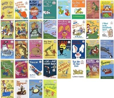 Dr. Seuss : Beginner 시리즈(36종)
