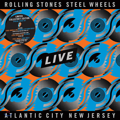 The Rolling Stones (롤링 스톤스) - Steel Wheels Live Atlantic City New Jersey [3CD+2DVD+SD Blu-ray]
