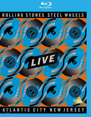 The Rolling Stones (롤링 스톤스) - Steel Wheels Live Atlantic City New Jersey [SD Blu-ray]
