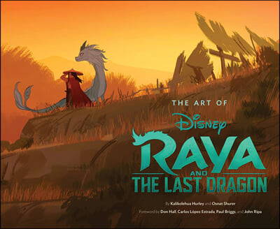 Art of Raya and the Last Dragon
