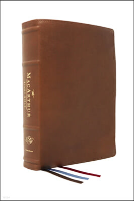 The Esv, MacArthur Study Bible, 2nd Edition, Premium Goatskin Leather, Brown, Premier Collection: Unleashing God's Truth One Verse at a Time