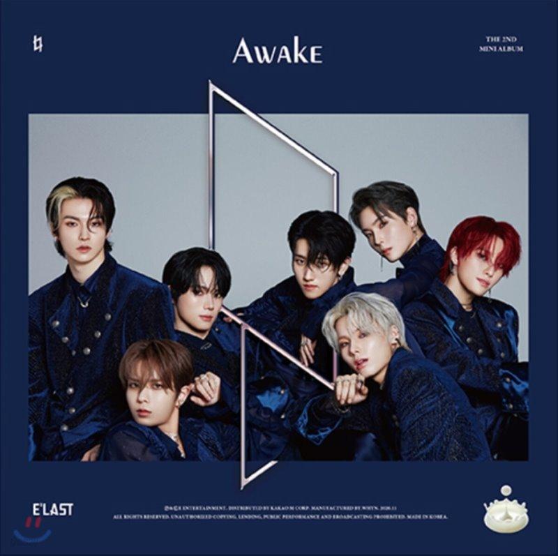 엘라스트 (E'LAST) - 미니앨범 2집 : Awake [Navy ver.]