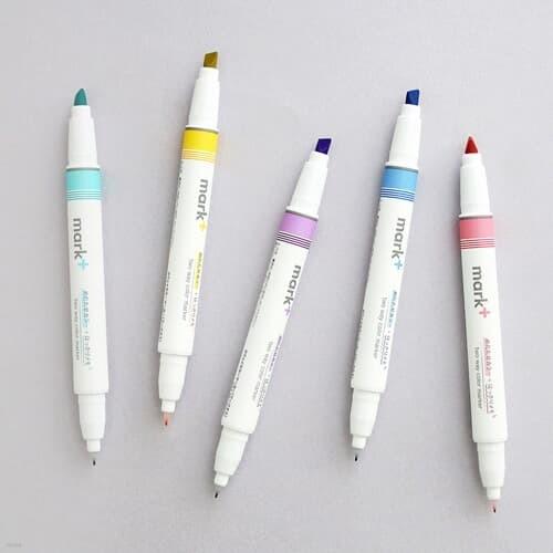고쿠요 투웨이 컬러 형광펜 단품 (5color)