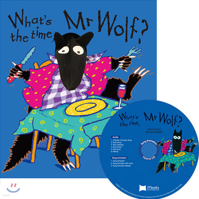 [노부영 세이펜] What's the Time, Mr Wolf? (원서 & CD)