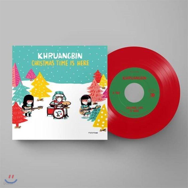 Khruangbin (크루앙빈) - Christmas Time Is Here [7인치 레드 컬러 Vinyl]