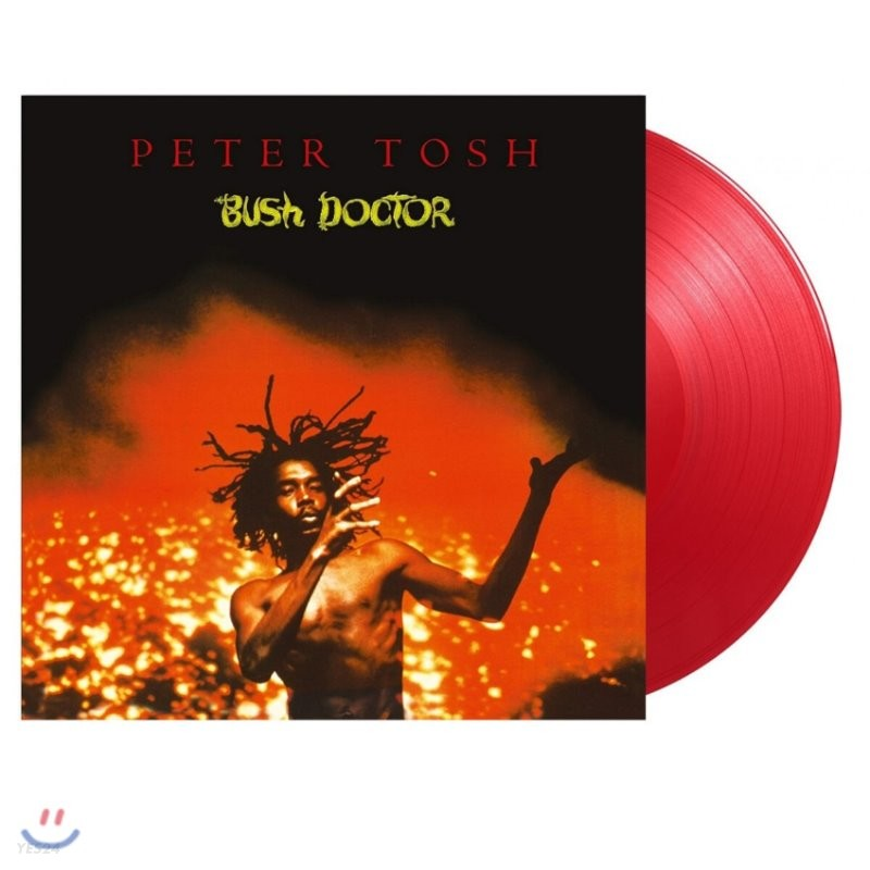 Peter Tosh (피터 토쉬) - 3집 Bush Doctor [투명레드 컬러 LP]