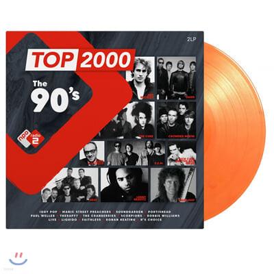 NPO 라디오 컴필레이션: 1990년대 히트곡 모음집 (Top 2000 - The 90's) [오렌지 컬러 2LP]