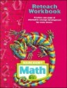 Harcourt Math Reteach Workbook, Grade 6