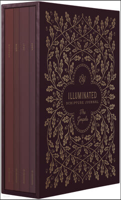 ESV Illuminated Scripture Journal: Gospels Set
