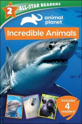 Animal Planet: Incredible Animals 4-Book Reader Bindup Level 2