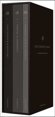 ESV Daily Journey Bible: An Interactive Encounter with God's Word (Three-Volume Set): An Interactive Encounter with God's Word (Three-Volume Set)