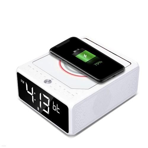 인비오 LC-10W 블루투스스피커 CD플레이어 스마트폰 무선충전