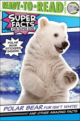 Ready to read 2 : Super Facts : Polar Bear Fur Isn't White!